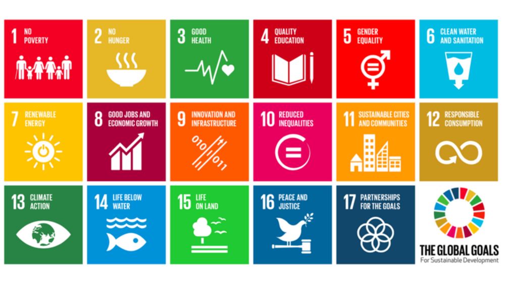 Sdgs global graphic