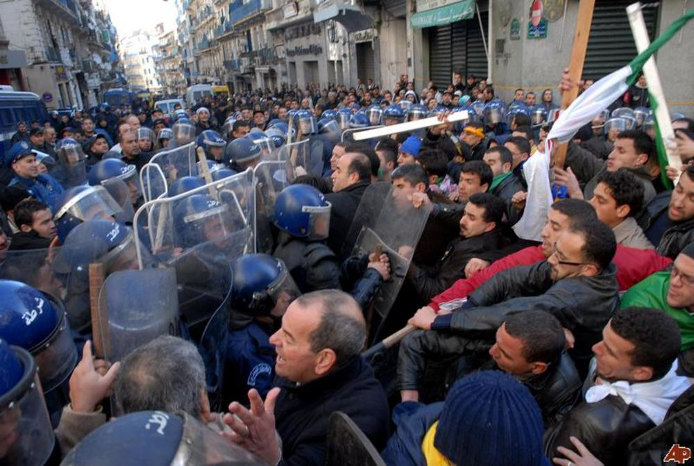 Algeria banned protest 2011 1 22 11 31 10