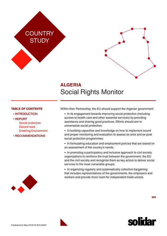 Social rights monitor   algeria