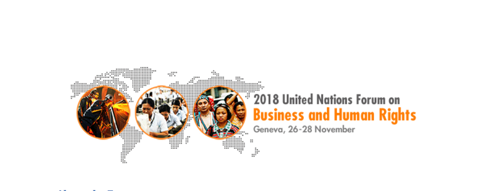 The un forum on business and human rights