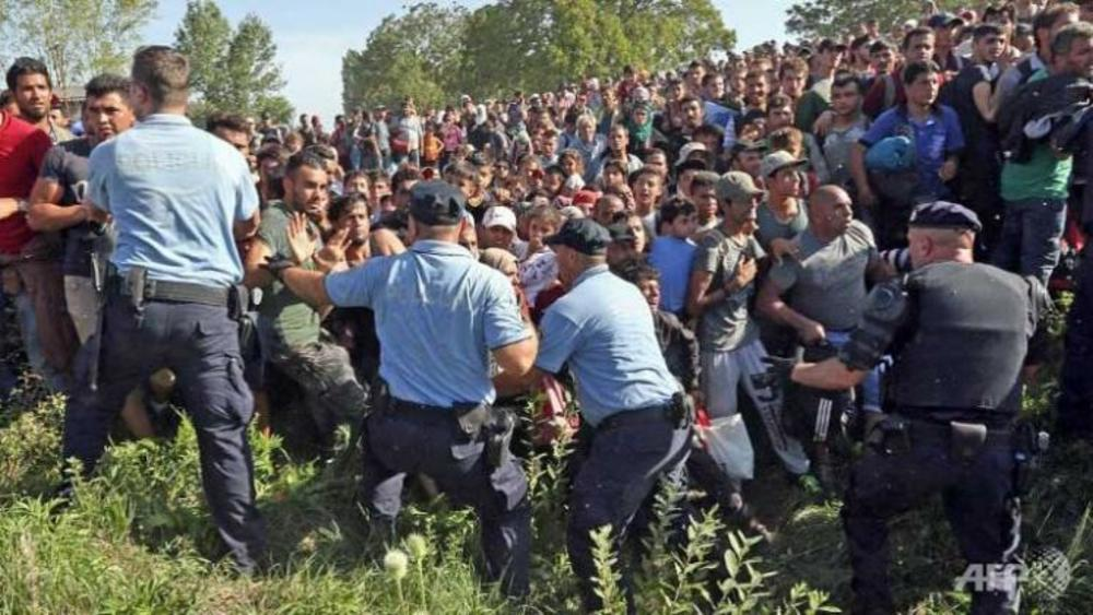 Croatia migrants