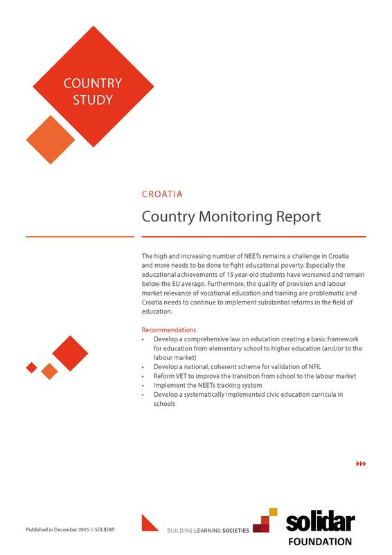2015 building learning societies country reports croatia cover