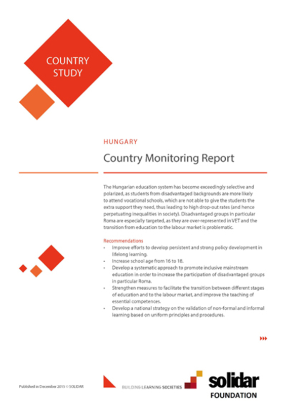 2015 building learning societies country reports hungary cover