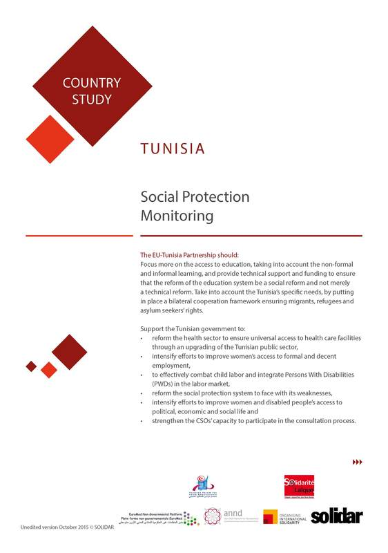 2015 11 13 solidar country reports mena tunisia 2 cover