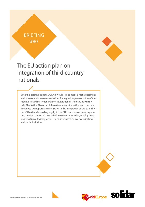 80 briefing together for social europe the eu action plan on integration of third country nationals page 01