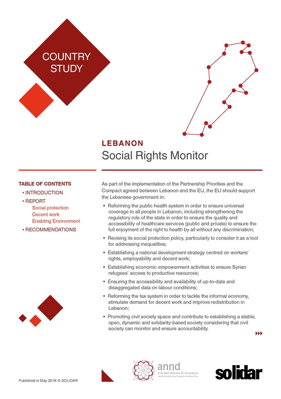 Cover social rights monitor   lebanon